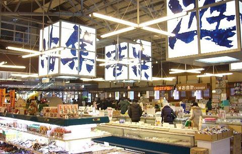 函馆海鲜市场的图片