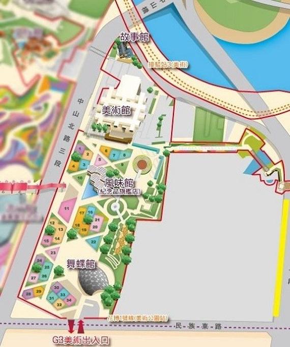 圆山公园旅游导图