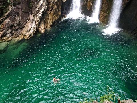 三友瀑布景区旅游景点图片