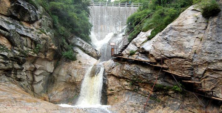 千尺珍珠瀑旅游景点图片