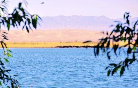 渥洼池的图片