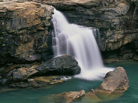 天仙瀑的图片