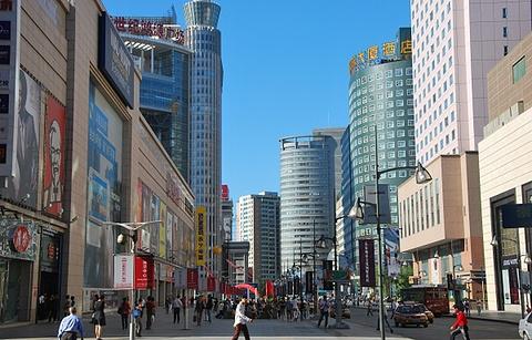 重庆路商业街的图片