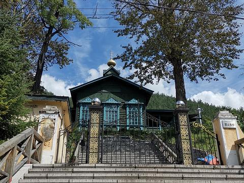 横道河子俄罗斯风情小镇风景区旅游景点图片