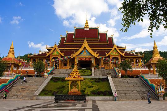 佛教文化区旅游景点图片