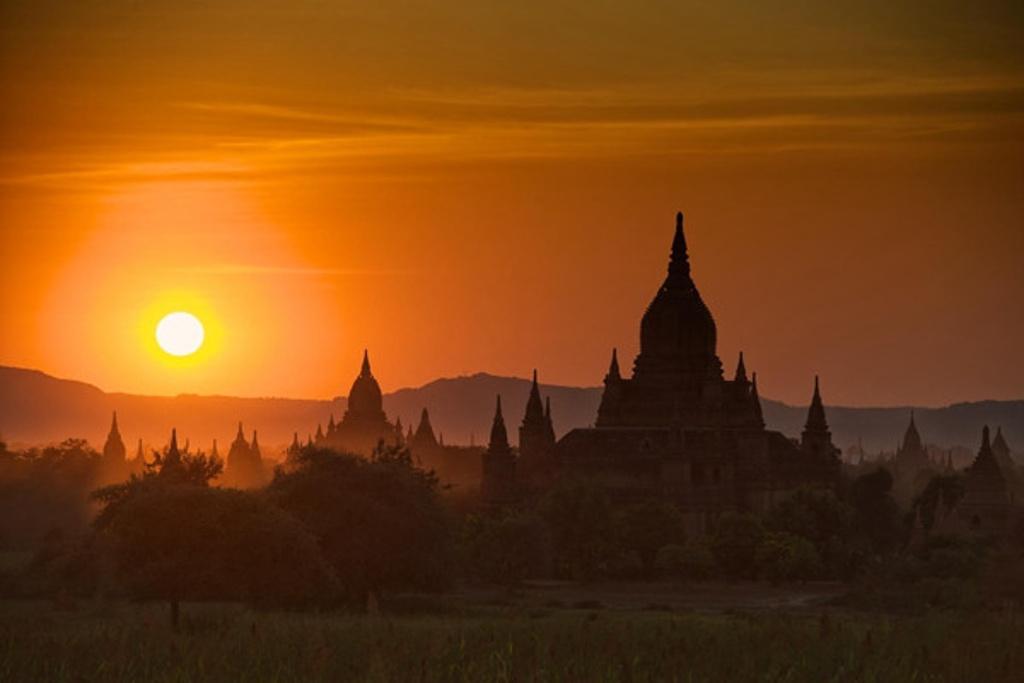 缅甸全境经典8日线路