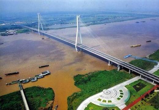 南京长江二桥旅游景点图片