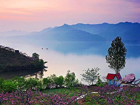 丹东桃花岛旅游景点图片