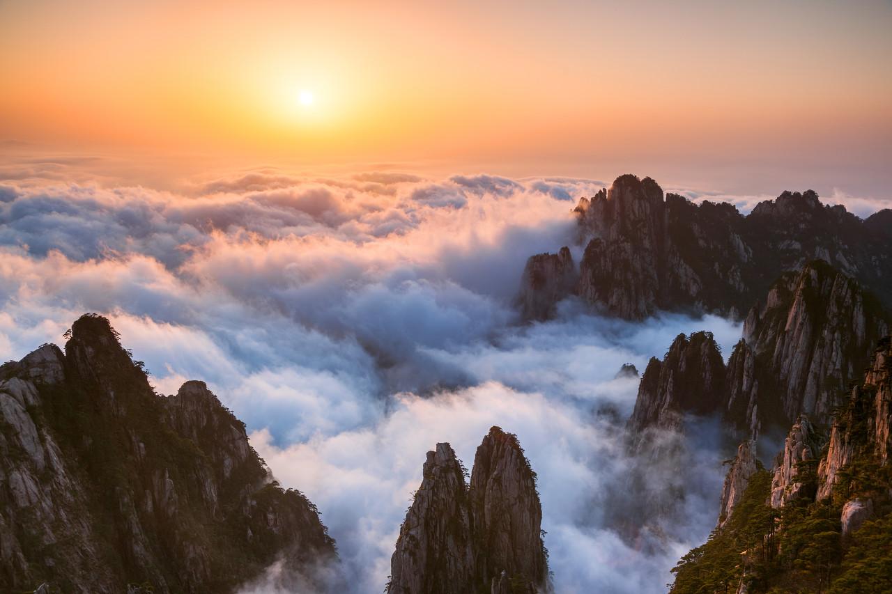 黄山爬山1日线路