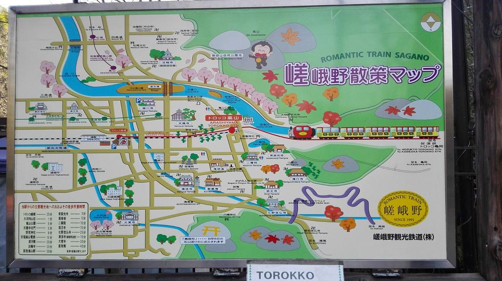 天龙寺旅游导图