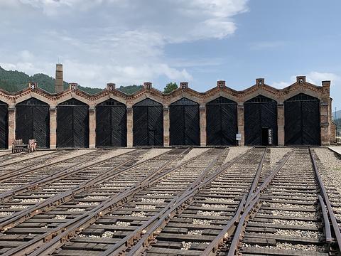 中东铁路运输博物馆(机车库遗址)旅游景点图片