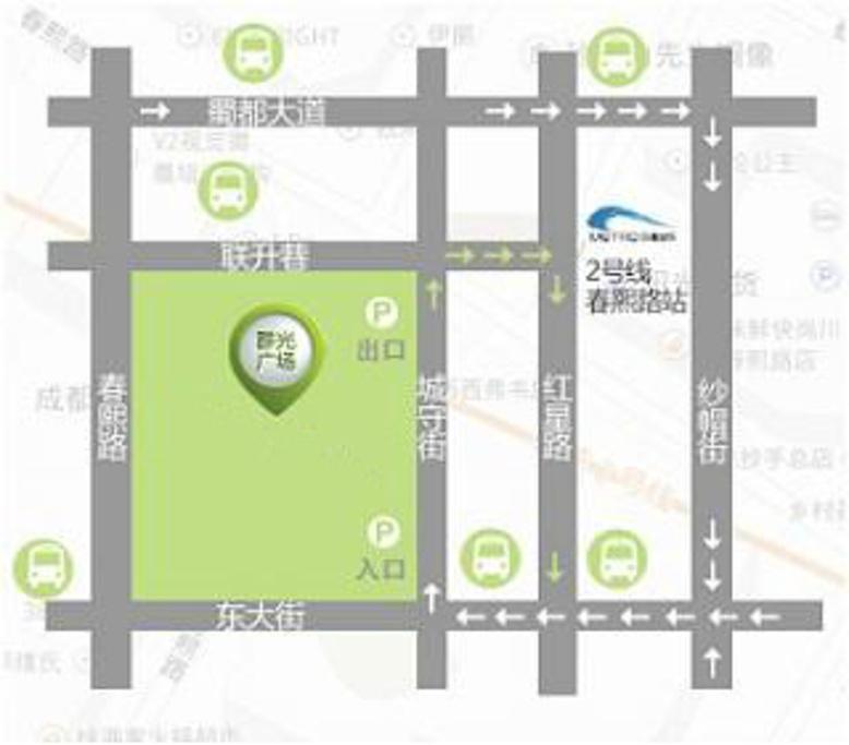群光广场旅游导图