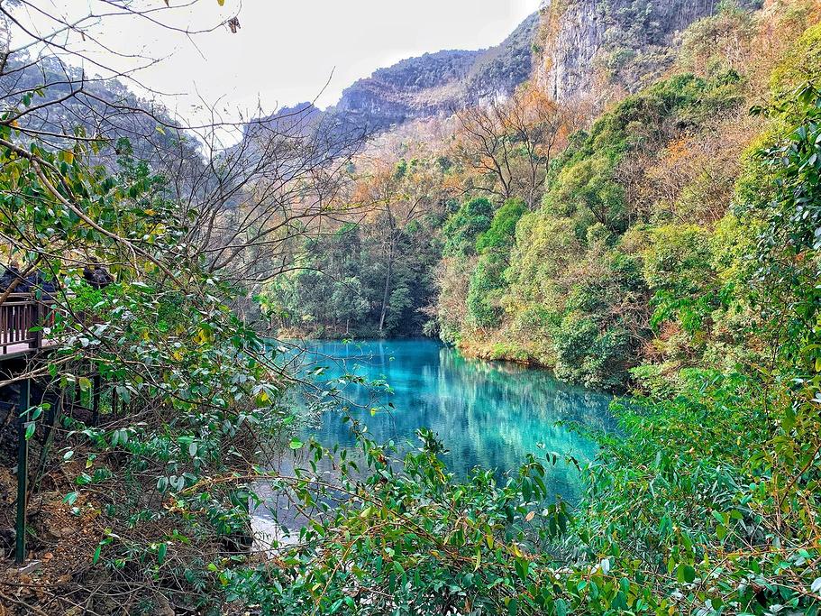 贵州黔西南奇幻山水6日线路