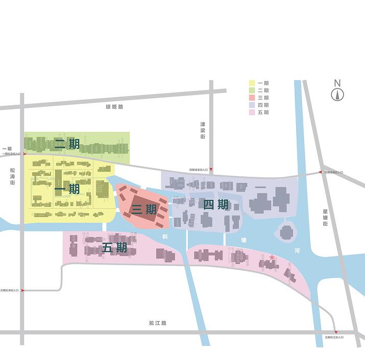 斜塘老街旅游导图