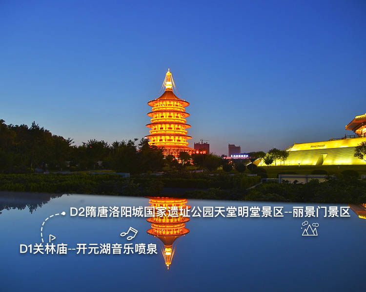 洛阳景点文化之旅2日游
