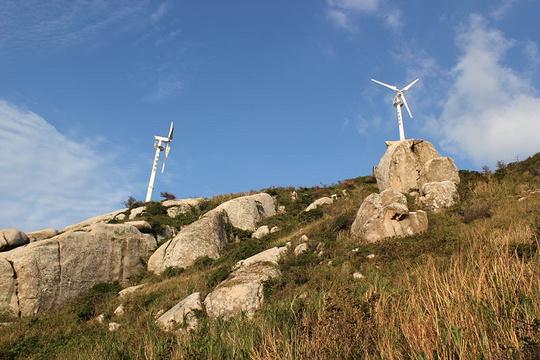 风力发电大风车旅游景点图片