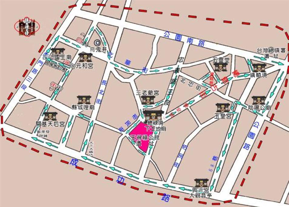 上海城隍庙旅游导图