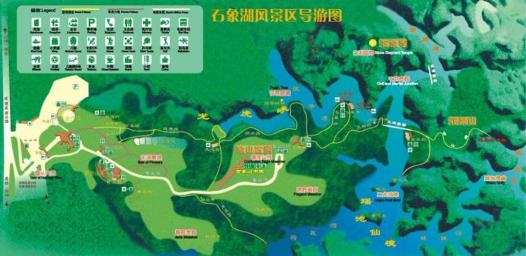 石象湖旅游导图