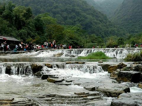 翠谷瀑布旅游景点图片