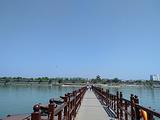 阆中古城-浮桥
