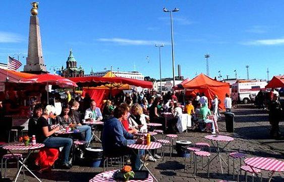 露天市场广场旅游景点图片