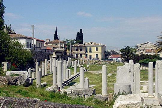 雅典古市集博物馆旅游景点图片