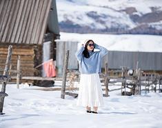 自驾新疆23天,从无际的茫茫雪原到美丽的花花世界
