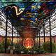 市彩色玻璃植物园