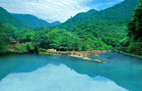 清音平湖的图片