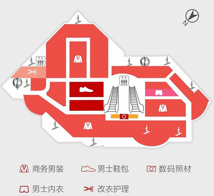 开元商城(钟楼店)旅游导图