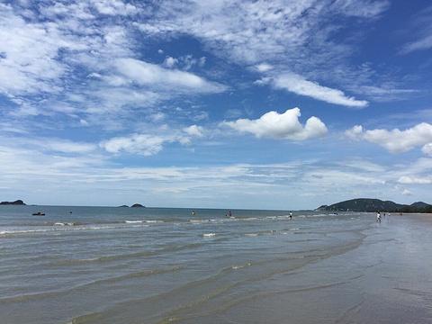 三颂普拉蒂派特海滩旅游景点图片