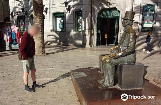 Estatua de Hans Christian Andersen旅游景点图片