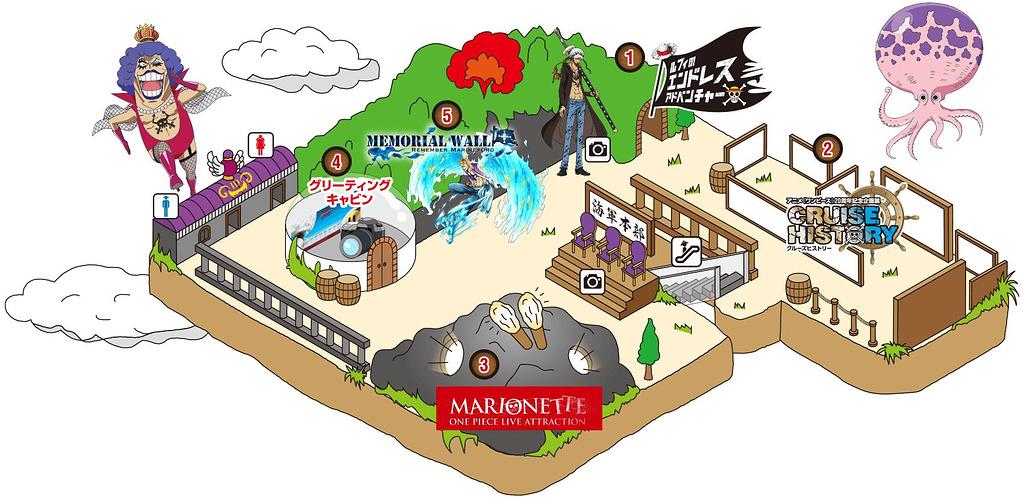 海贼王主题乐园旅游导图