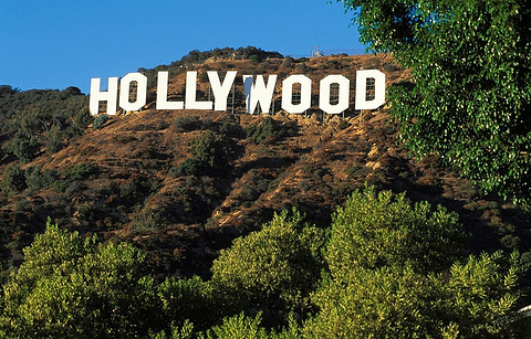 好莱坞标志的图片