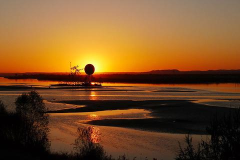黄河滩岛的图片