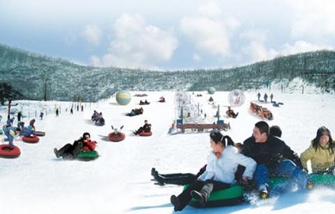 地下画廊滑雪场