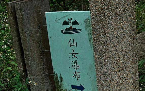 仙女瀑布旅游景点图片