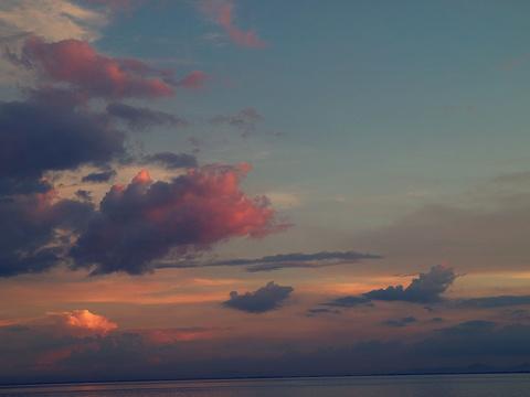 日落大道的图片