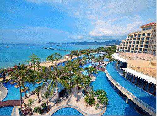 三亚亚龙湾凯莱仙人掌度假酒店