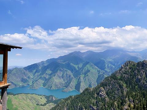天山天池旅游景点攻略图