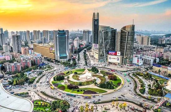 光谷广场旅游景点图片