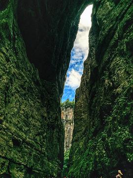 武隆天生三桥旅游景点攻略图