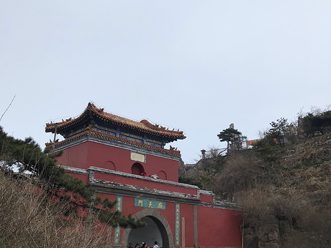玉皇顶旅游景点图片