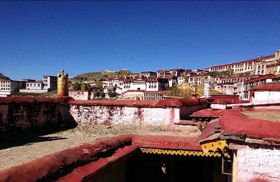 甘丹寺旅游景点图片