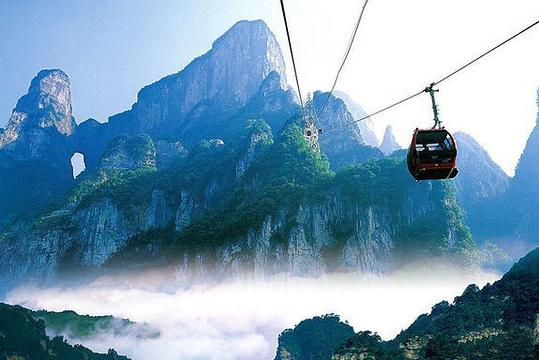 天门山国家森林公园旅游景点图片