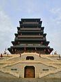 汉城湖大风阁博物馆