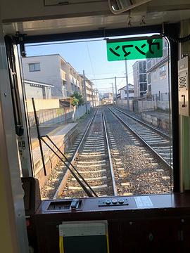 岚电樱花隧道旅游景点攻略图