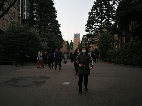 早稻田大学旅游景点攻略图
