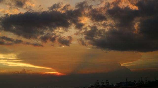 日落大道旅游景点图片
