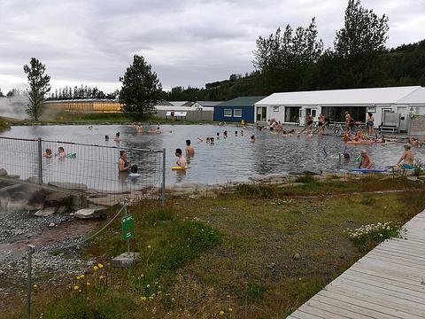 米湖天然浴池旅游景点攻略图